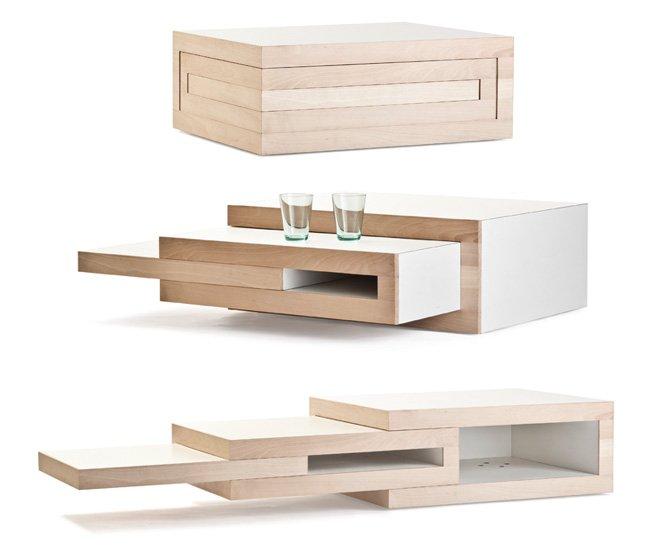 Rek una mesa de centro que se adapta a tus necesidades - Mesas de centro que se elevan ...