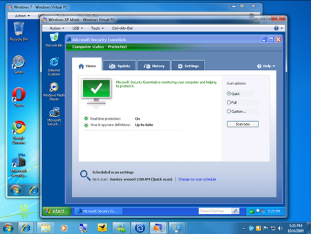 Antivirus Windows 7