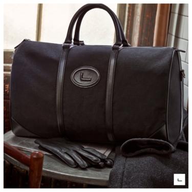 Lancel nos propone llevar una bolsa de viaje como las de antes