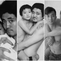 Padre e hijo, una fotografía y casi tres décadas de historia