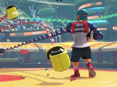 Nintendo quiere repetir el éxito de Wii en Switch con ARMS: boxeo a golpe de Joy-Con