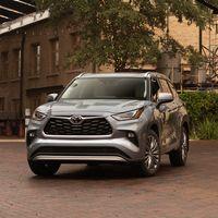 El Toyota Highlander es un SUV híbrido de hasta siete plazas que llegará a nuestro mercado en 2021