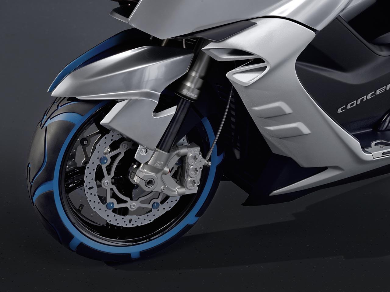 Foto de BMW Concept C Scooter, el Scooter del futuro según BMW (15/19)