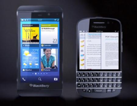 Primeras imágenes de un teléfono BlackBerry 10 con teclado QWERTY