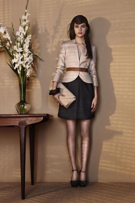 Mango también se vuelve romántica con su colección nude Primavera-Verano 2011 con Alejandra Alonso