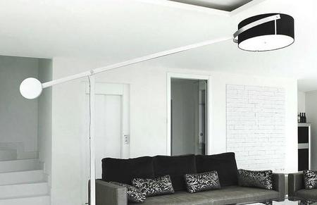Compass de Pujol, una lámpara para darle el toque de vanguardia a tu salón