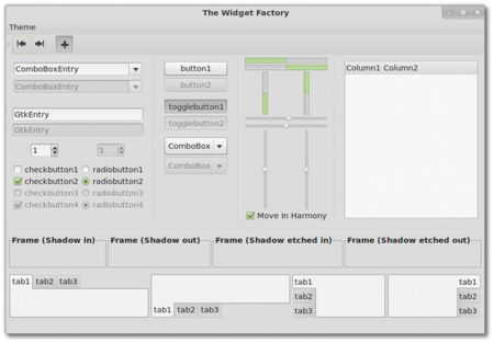 Linux Mint 13 Widget Factory