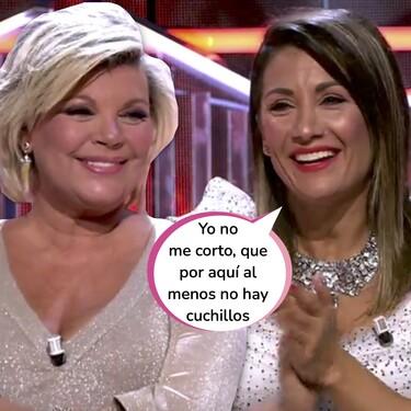 Nagore Robles aprovecha la omnipresencia de Terelu Campos en televisión para endosarle este ocurrente zasca en 'El debate de las tentaciones'