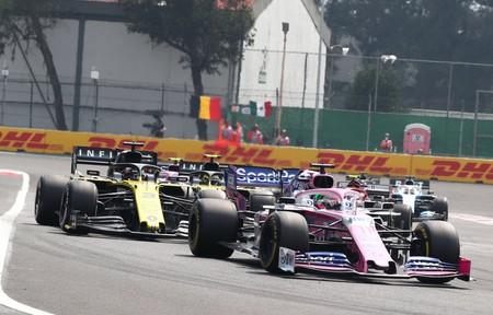 Sergio Perez Mexico F1 2019