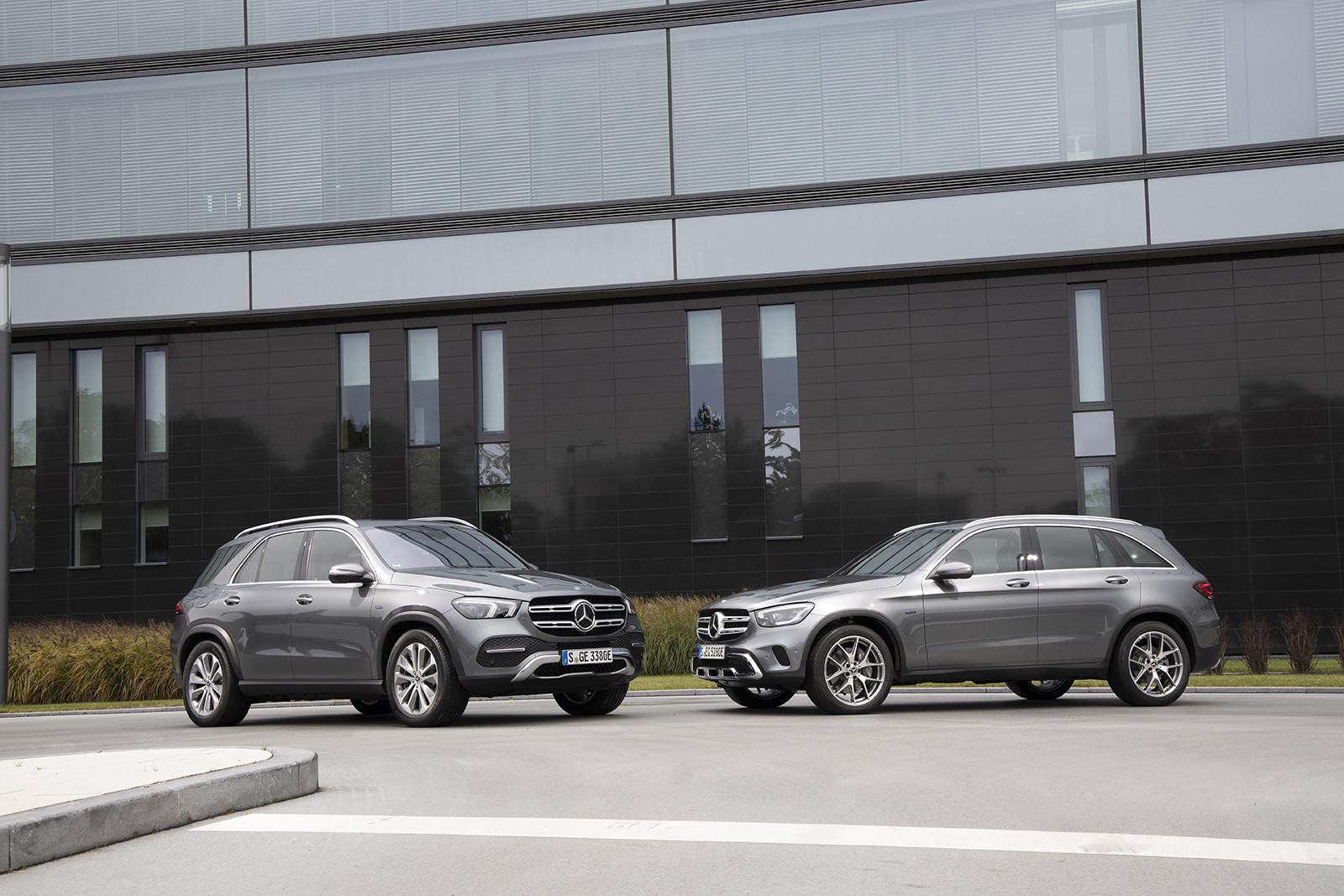 Foto de Mercedes-Benz GLE 350e y GLC 300e (3/26)