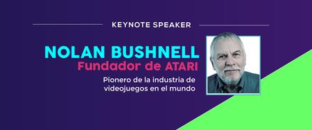 Nolan Bushnell, fundador de Atari, estará en Colombia en septiembre