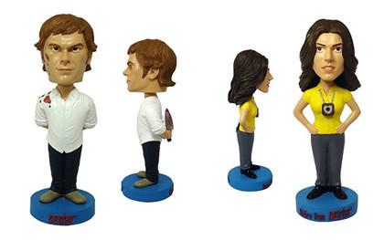 Muñecos de Dexter