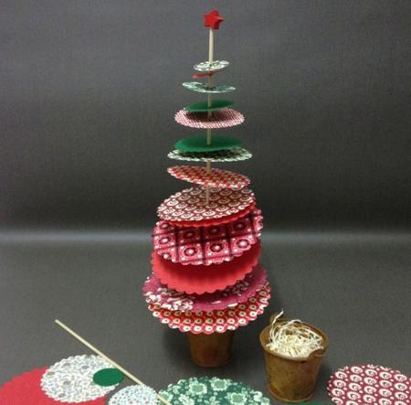 Centros para la mesa de Navidad