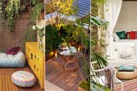 Pequeños detalles para conseguir una terraza más acogedora