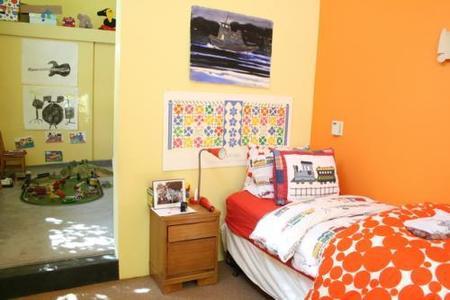 Una de las habitaciones de los niños