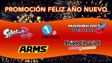 Nintendo Inicia Su Promocion Feliz Ano Nuevo 2019 Con Ofertas En