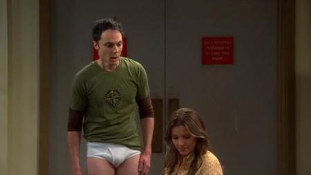 Sheldon en el primer episodio de la octava temporada