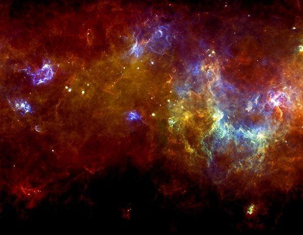 La ESA nos acerca las nubes donde nacen las estrellas