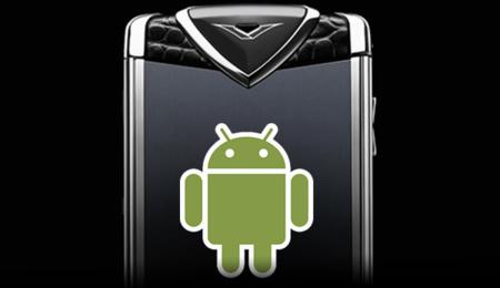 A partir de febrero los teléfonos Vertu seguirán siendo caros, pero más utiles con Android