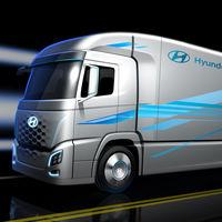Hyundai lleva la tecnología del Nexo al mundo de transporte con este camión conceptual