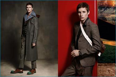 Eddie Redmayne protagoniza la campaña Otoño-Invierno 2016/2017 de Prada