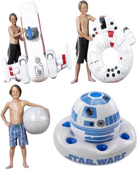 Flotadores hinchables de Star Wars