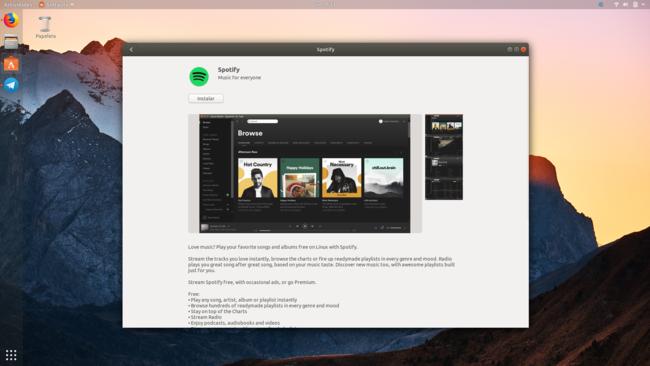 Spotify Para Ubuntu Snap