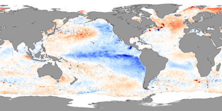 Sea Surface Temperature November 2007
