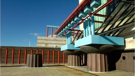 Puertas abiertas en el 'Palacio de Festivales' de Santander en el 'Día Mundial del Teatro'