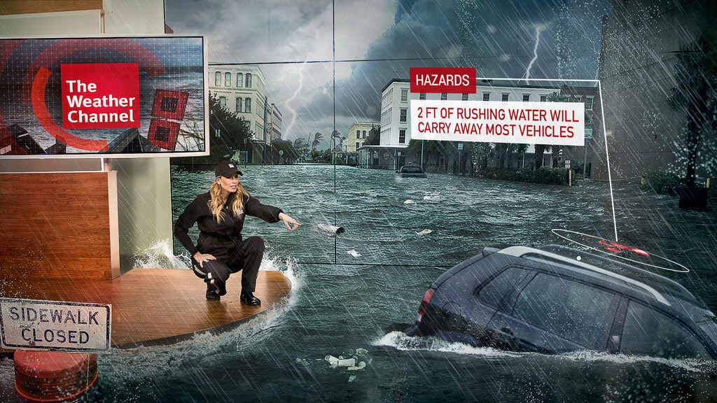 Unreal Engine Blog The Weather Channel Taps The Future Group To Provide Revolutionary Mixed Reality Capabilities Weather Channel Imr3 1280x720 9a76f6c32888841f286164fc8c64be4296841fa4