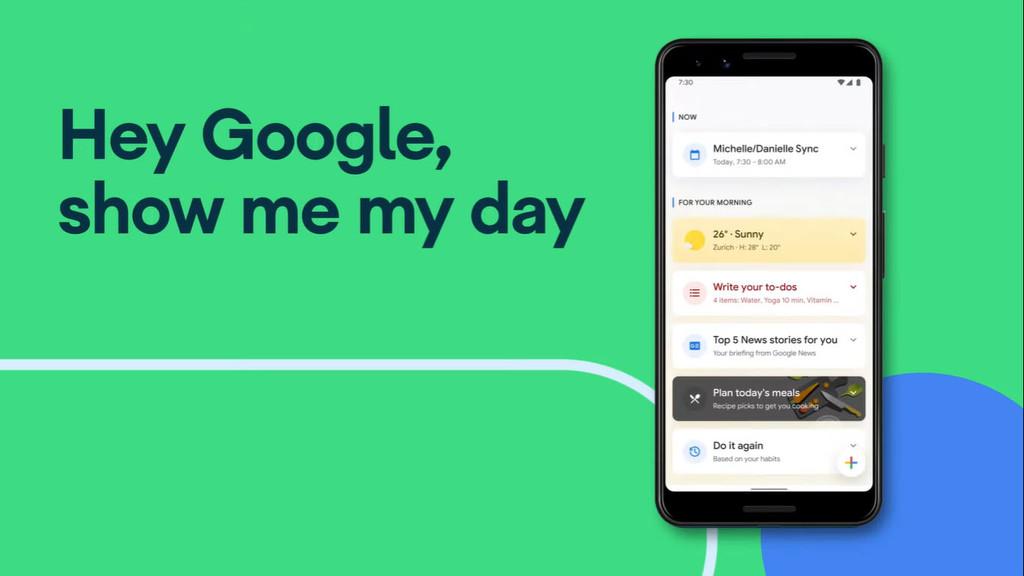 El Asistente de Google® en este instante te mantendrá al aniversario con mas recientes recordatorios y recomendaciones