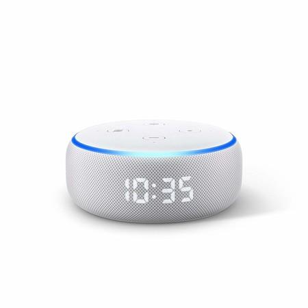 Resultado de imagen para Echo Dot con reloj
