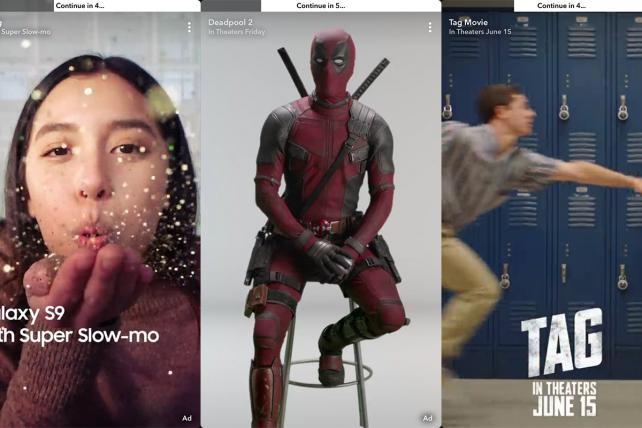 Snapchat publicidad