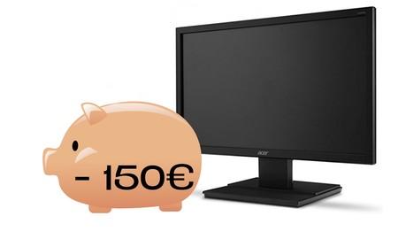 13 monitores de PC por menos de 150 euros