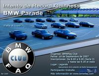 El próximo domingo en Leganés se intentará batir el récord Guinness de BMW juntos