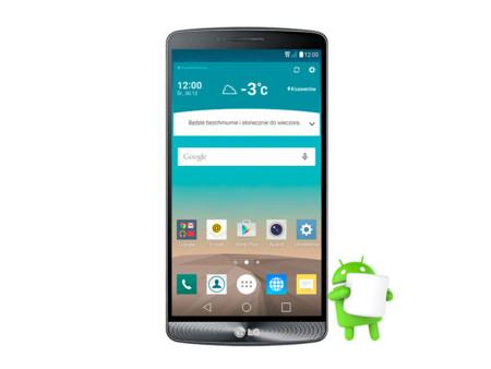 LG G3, lista su actualización a Android 6.0 Marshmallow