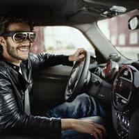 MINI quiere que estas gafas de realidad aumentada sean tu aliado al volante