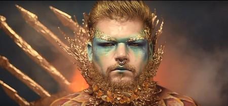 Así es el maquillaje multi-disciplinar de Víctor Aragón, ganador de los Spain Face Awards 2018