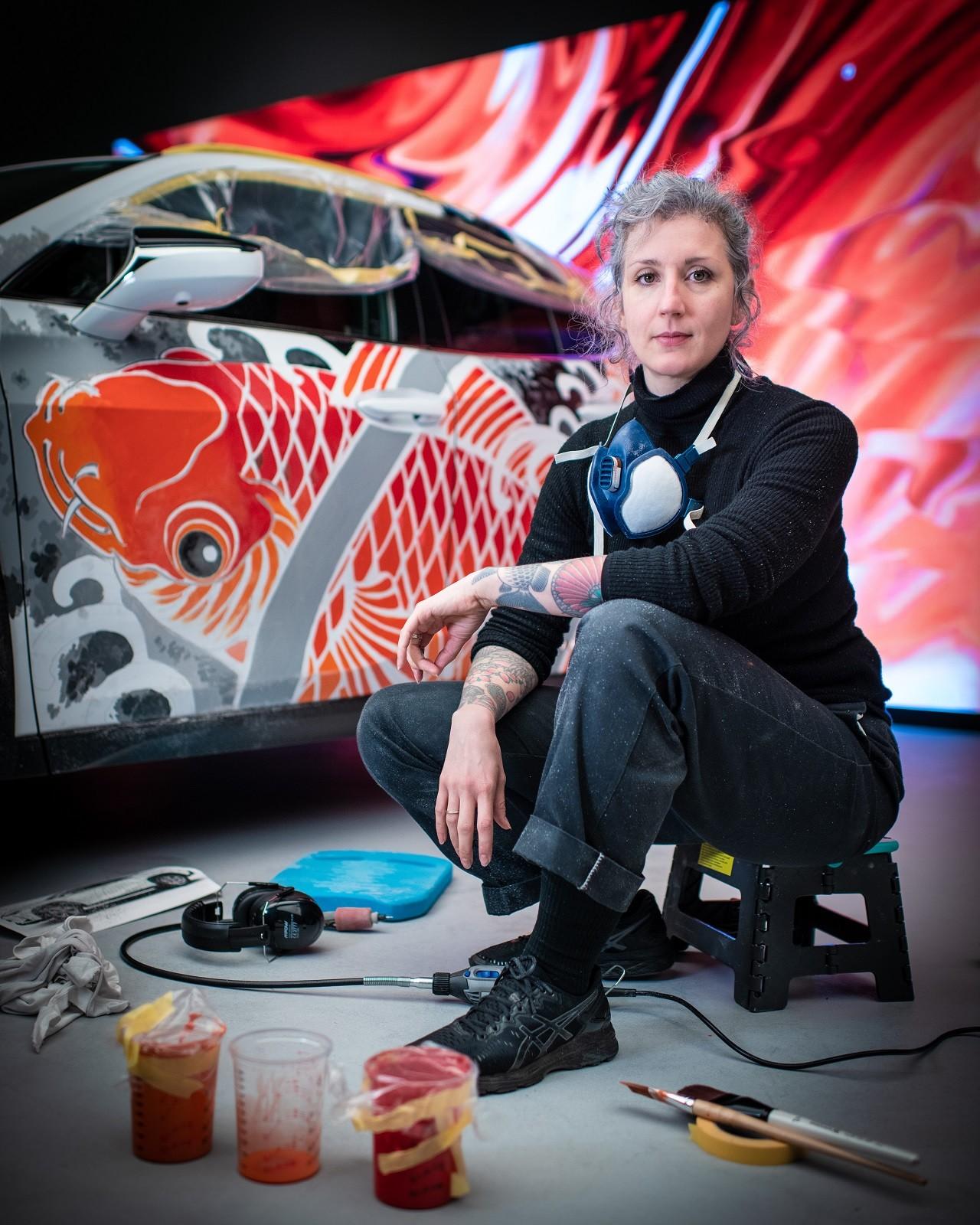 Foto de Lexus UX tatuado (24/27)