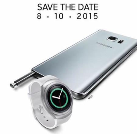 Lo nuevo de Samsung en México tiene fecha: Galaxy Note 5 y Gear S2 para el 8 de octubre