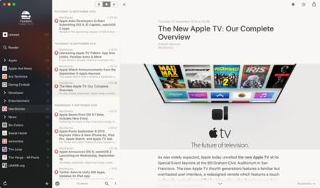 Reeder 3 ya en la App Store: uno de los mejores lectores RSS para OS X