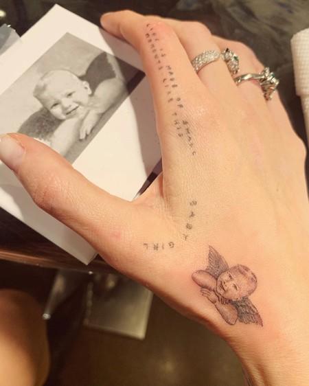 Chiara Ferragni Tatuaje