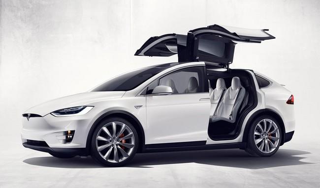 Tesla Model X Fremont