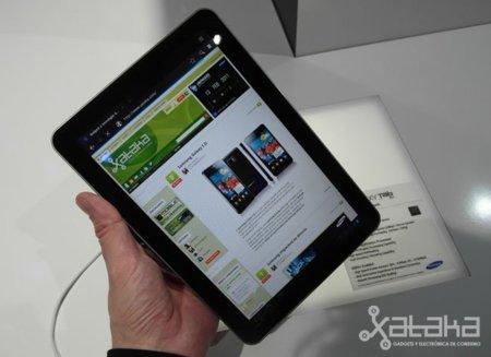 Samsung Galaxy Tab 10.1. Lo probamos en el MWC 2011