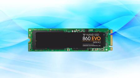 Esta brutal rebaja deja al disco SSD Samsung 860 EVO M.2 de 2 TB a su precio mínimo histórico en Amazon: 174,36 euros