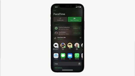 Facetime link