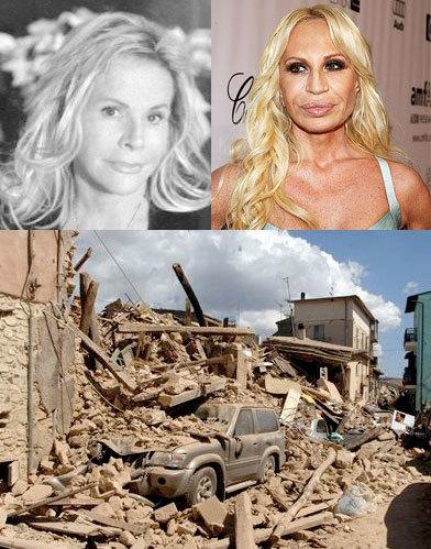 Las firmas italianas unidos apoyan a las víctimas del terremoto
