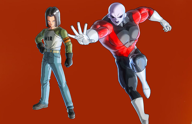 Jiren y el Androide 17 de Dragon Ball Super llegarán en febrero a Dragon Ball Xenoverse 2