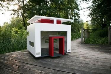 Cubix, casas de diseño para perros