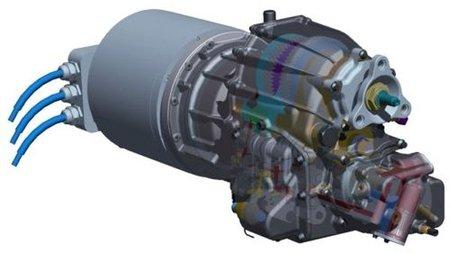 Una caja de cambios de tres velocidades para vehículos eléctricos